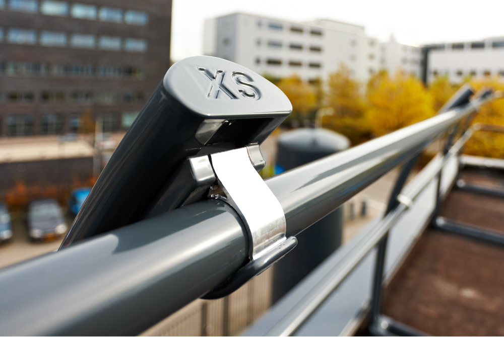 xsguardrail xsfixed protection roof guardrail xsp xsplatforms netherlands leiden