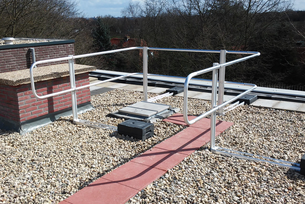 xsguardrail xsfixed protection roof guardraul xsp xsplatforms netherlands