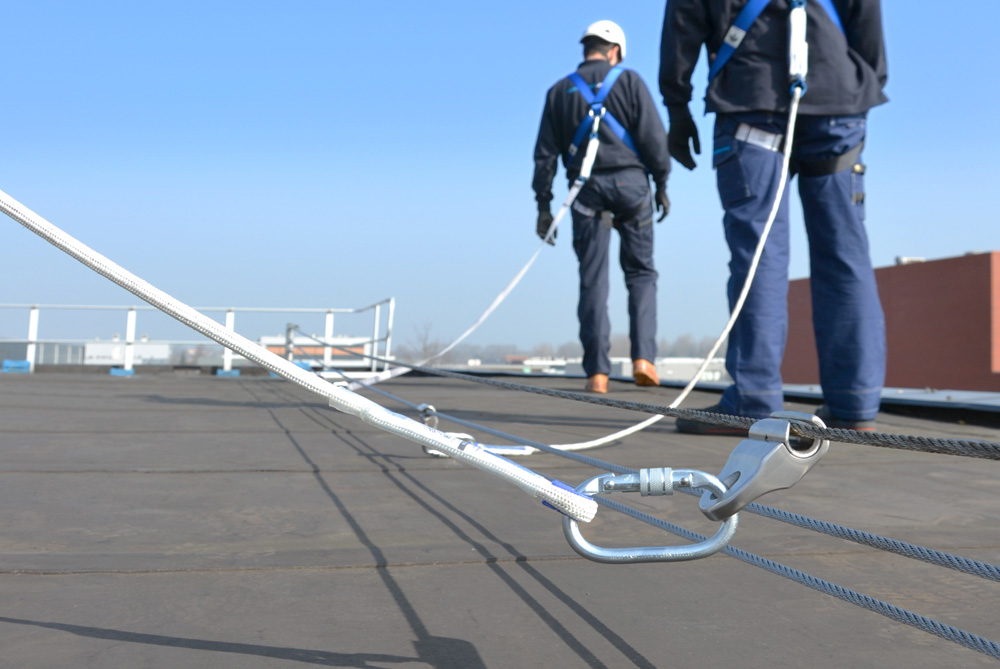 Horizontal Lifeline Systems Roofs Fall Protection
