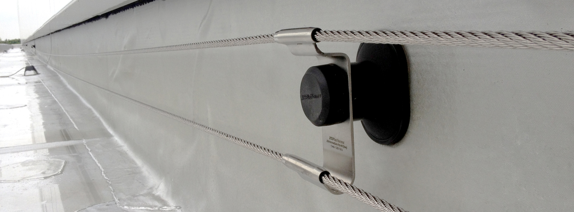 linkedpro wall banner fall protection arrest system multiline
