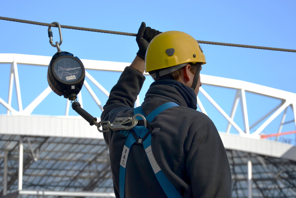ppe retractable arena amsterdam safety xstop xsp xsplatforms