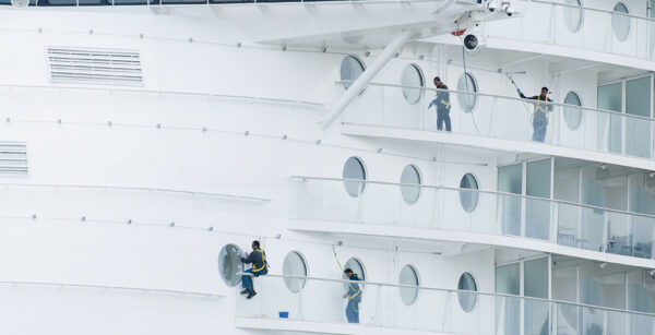FALL PROTECTION FOR BIGGEST CRUISE SHIP IN THE WORLD