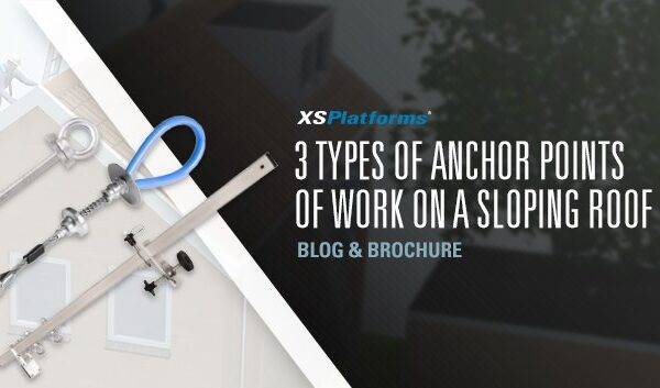 Anchor points for sloping roofs