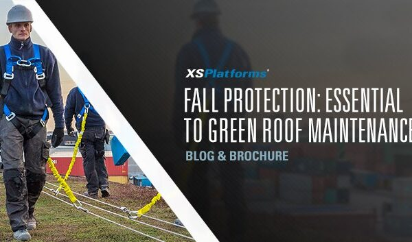 Fall protection is essential to maintaining a green roof