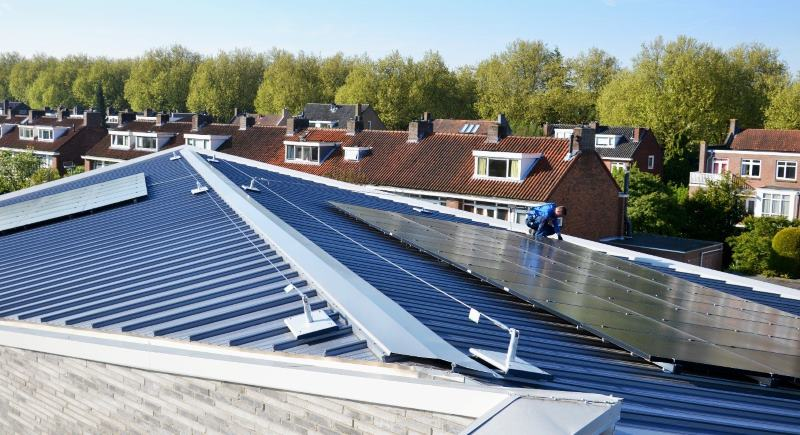 The Challenges Of Fall Protection On Sloping Roofs