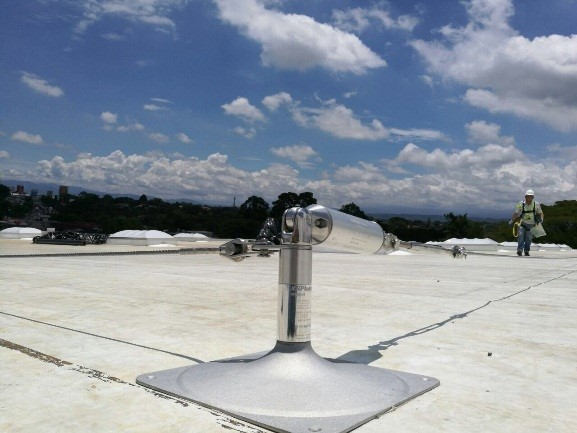 FALL PROTECTION SYSTEMS FOR NATIONAL BEVERAGE WAREHOUSE