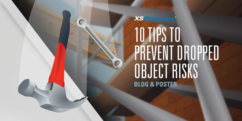 Tips to prevent falling objects
