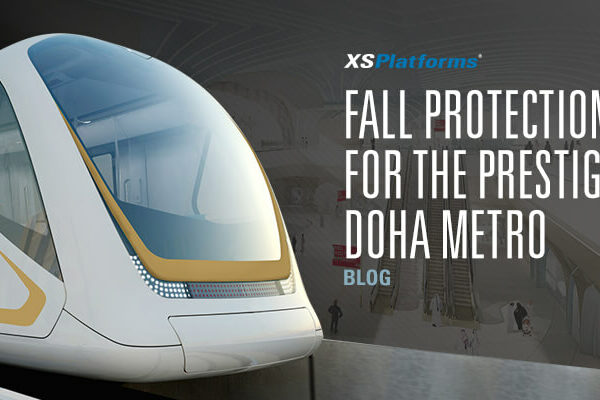 Fall protection for the Doha Metro