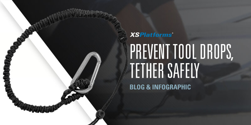 Preventing falling objects tether tools safely