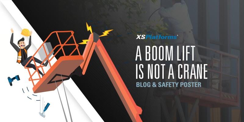 A boom lift is not a crane