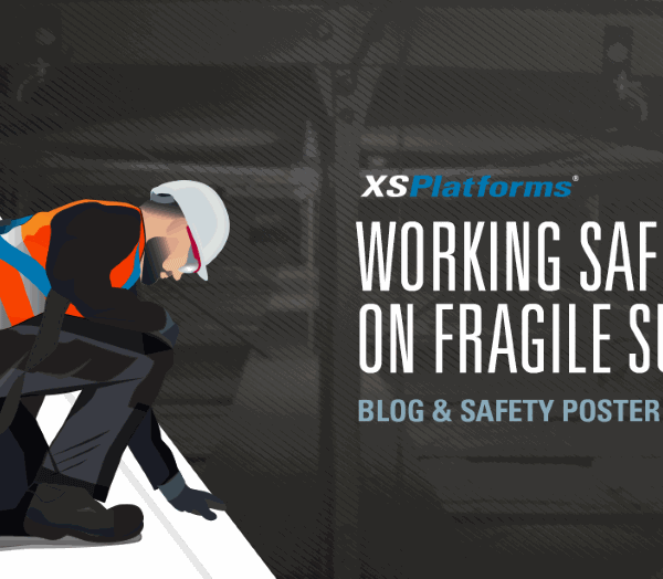 Working safely at height on fragile surfaces