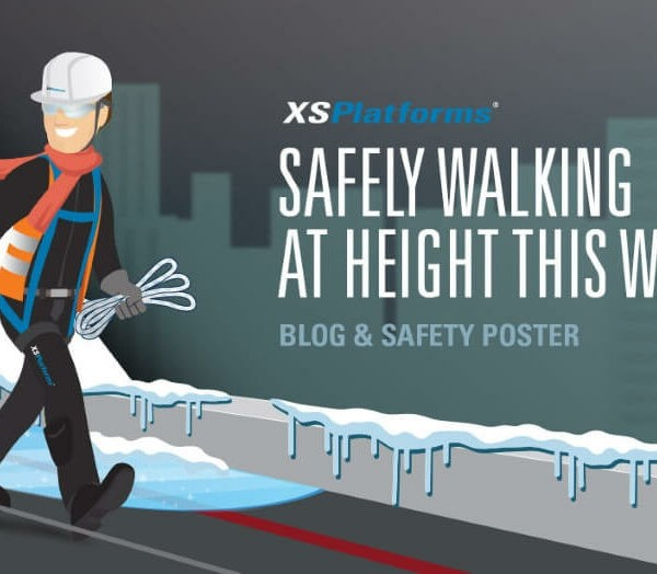 Walk safely at height this winter