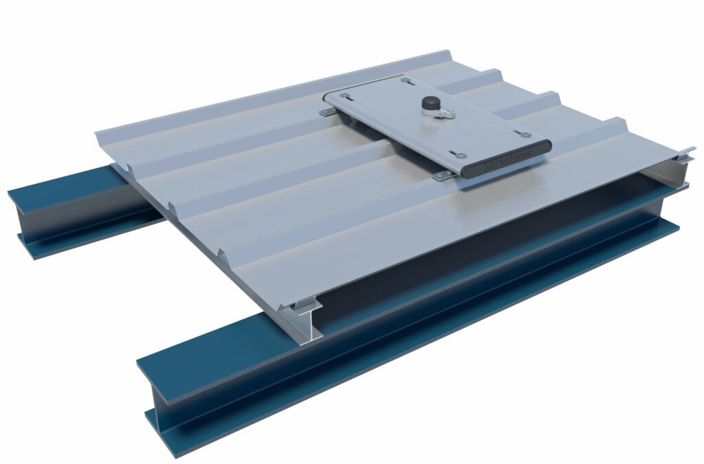 XTrusion anchor on cold roof structure