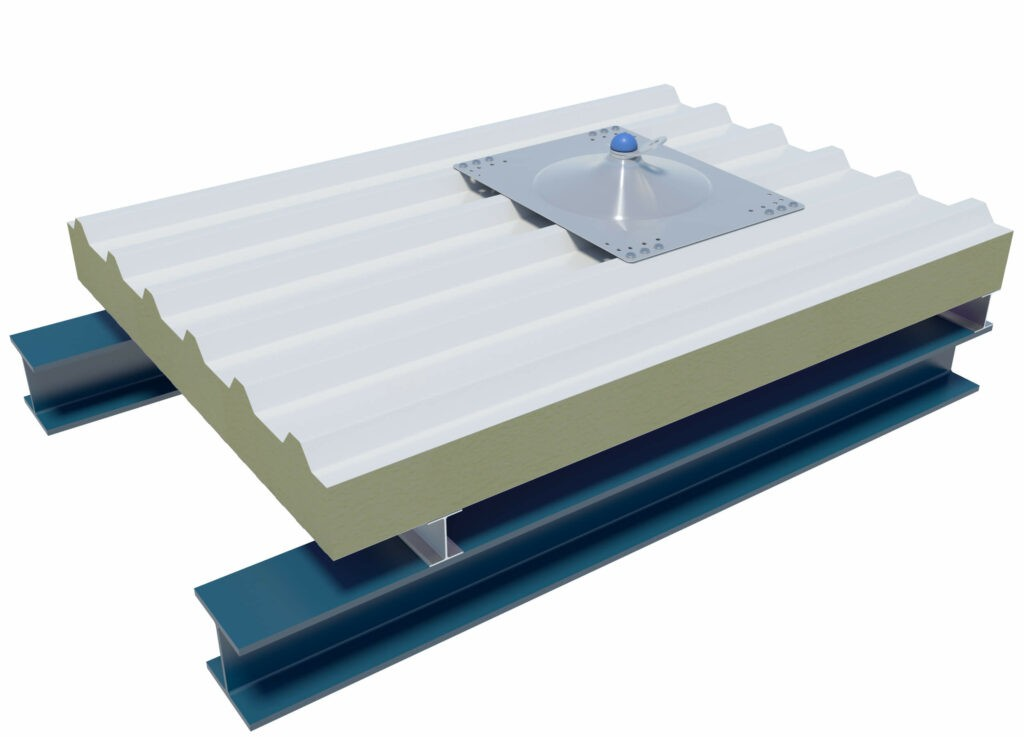 XSMD anchor point on sandwich panels
