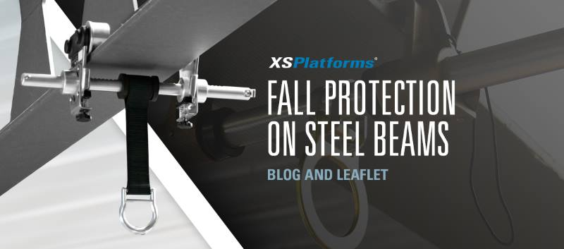 Fall protection on steel beams