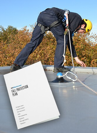 Set up a fall protection plan