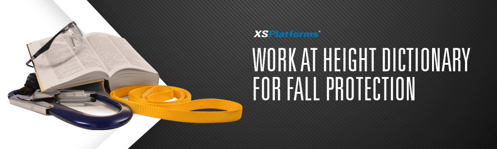 Fall protection terms explained