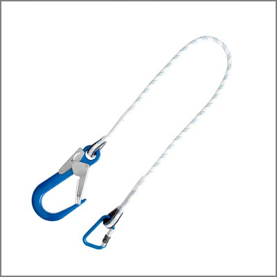 Restaint lanyard XL with sharp edge protection
