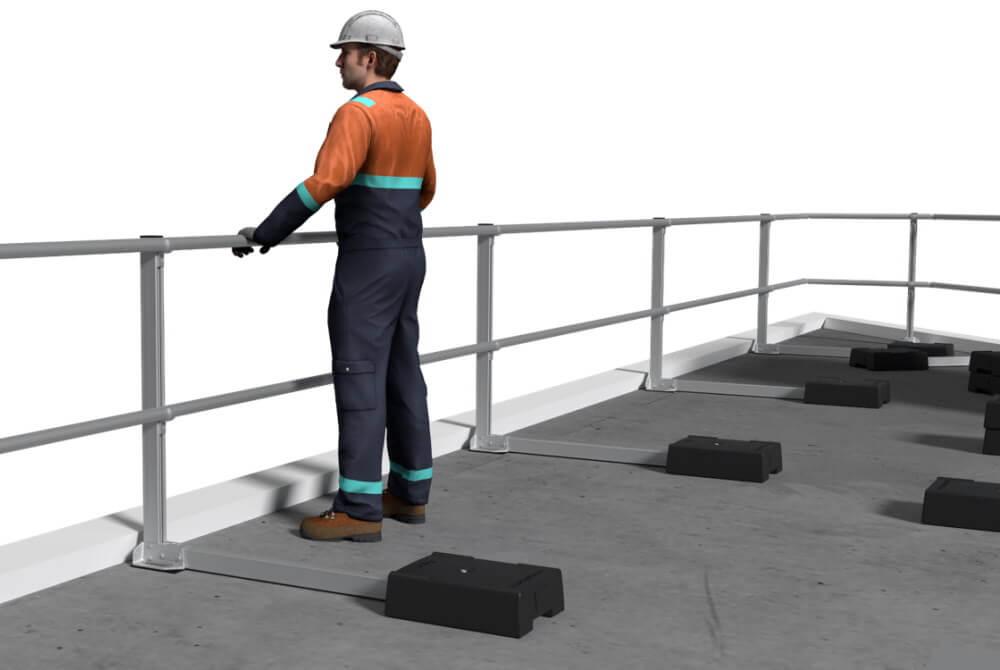XSFix freestanding guardrail
